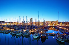 Port Vell, Barcelona - Spain Royalty Free Stock Images
