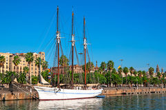 Port Vell, Barcelona - Spain Stock Photos