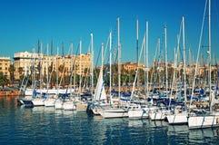Port Vell, Barcelona - Spain Stock Images