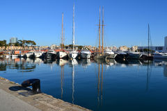 Port Vell in Barcelona, Spain Royalty Free Stock Image