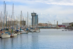 Port Vell, Barcelona, Spain Royalty Free Stock Photos