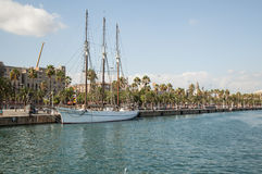 Port Vell, Barcelona - Spain Royalty Free Stock Photo