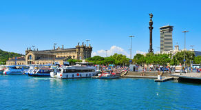 Port Vell in Barcelona, Spain Stock Photography