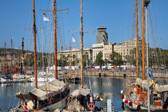 Port Vell, Barcelona, Spain Royalty Free Stock Image
