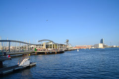 Port Vell in Barcelona, Spain Royalty Free Stock Photos
