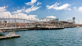 Port Vell in Barcelona Royalty Free Stock Images