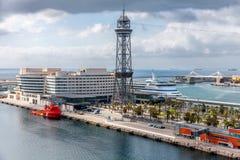 Port Vell in Barcelona Stock Photos