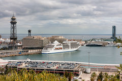 Port Vell of Barcelona Royalty Free Stock Photos