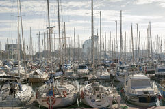 Port Vell Stock Images