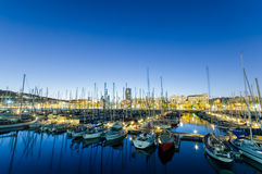 Port Vell, Barcelona. royalty free stock photos