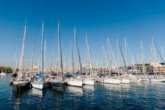 Port Vell, Barcelona. stock photography