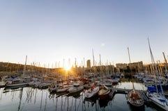 Port Vell, Barcelona. royalty free stock photo