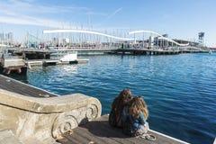 Port Vell, Barcelona Stock Photos
