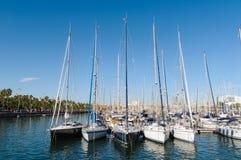 Port Vell, Barcelona. royalty free stock image