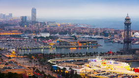 Port Vell at Barcelona Royalty Free Stock Photography
