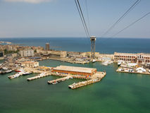 Port Vell harbor area Royalty Free Stock Photos