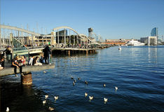 Port Vell Marina, Barcelona Stock Photography