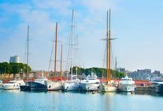 Port Vell marina. Barcelona, Spain Royalty Free Stock Photo