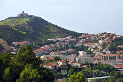 Port-Vendres, France royalty free stock photo