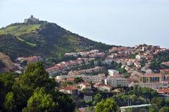 Port-Vendres, Frankrijk Royalty-vrije Stock Foto