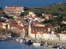 Port-Vendres in the Vermilion Coast Royalty Free Stock Photo