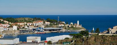 Port Vendres Royalty Free Stock Images