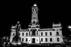 port Veracruz biel w czerni zdjęcie stock