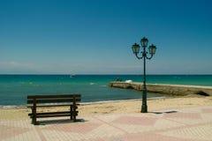 Port vide Photo stock