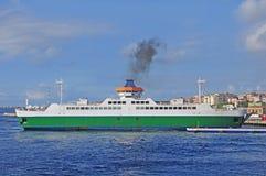 Port of Villa san Giovanni. Italy. Royalty Free Stock Photo