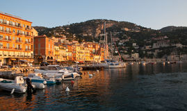 Port of Villefranche France Stock Photos