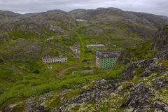 Port Vladimir, Murmansk region, Russia Royalty Free Stock Photography
