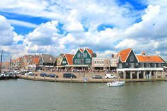In the port of Volendam. Royalty Free Stock Photography