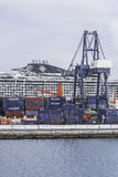 Port w Arrecife Zdjęcia Stock