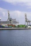 Port w Arrecife Zdjęcie Stock