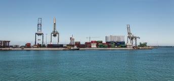 Port w Arrecife Zdjęcie Royalty Free