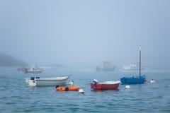Port w Brittany Zdjęcia Stock