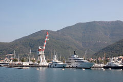 Port w Montenegro Fotografia Royalty Free
