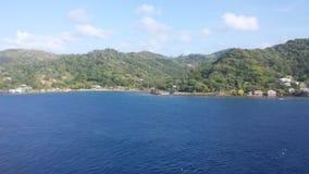 Port w ranku Zdjęcia Stock