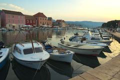 Port w Stari absolwencie Zdjęcie Royalty Free
