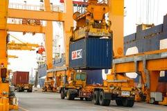 port w Thailand Zdjęcie Stock