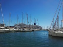 Port w Toulon Francja Zdjęcia Royalty Free