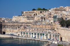Port w Valletta, Malta Zdjęcia Stock
