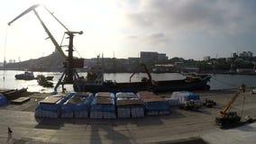 Port w Vladivostok zdjęcie wideo
