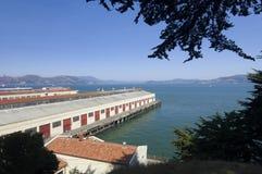 Port warehouses Royalty Free Stock Image
