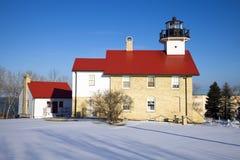 Port Washington Lighthouse Royalty Free Stock Photos