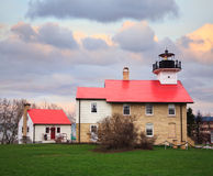 Port Washington Lighthouse Royalty Free Stock Photo