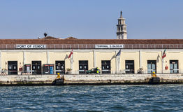Port Wenecja Fotografia Royalty Free