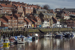 Port of Whitby - North Yorkshire - England Stock Photos