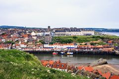 Whitby, north yorkshire, england. Royalty Free Stock Images
