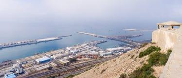Port widzieć od above Agadir, Maroko Fotografia Stock
